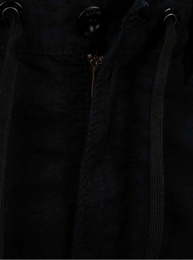 Pantaloni bleumarin cargo regular fit pentru barbati s.Oliver