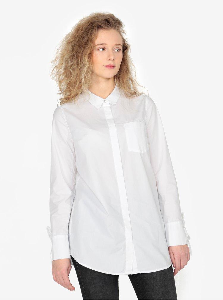 Bílá dámská dlouhá košile s.Oliver