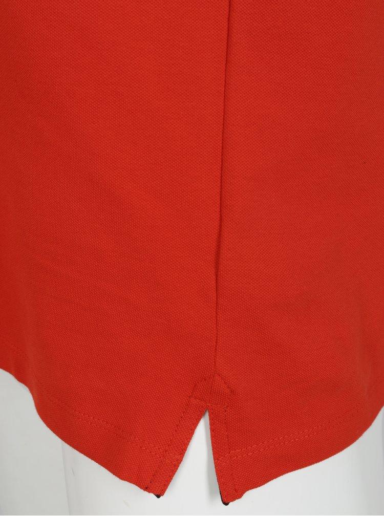 Červené pánské polo tričko Lindbergh