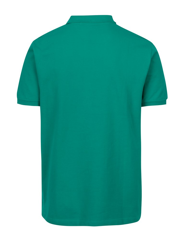 Zelená pánska regular fit polokošeľa s logom s.Oliver