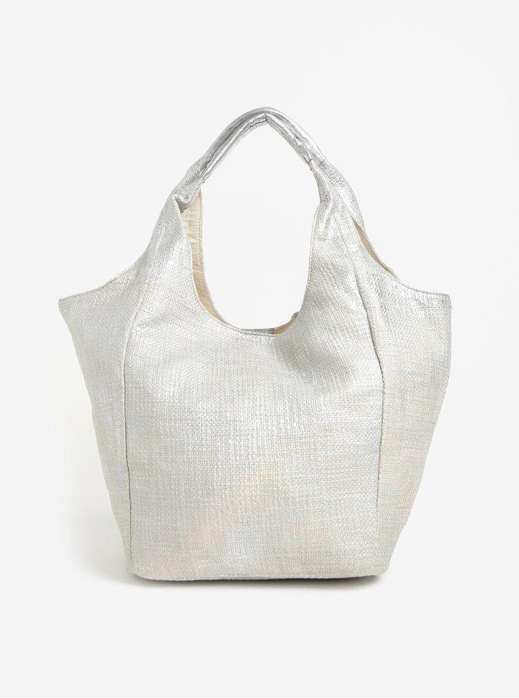 Shopper ve stříbrné barvě Yesre