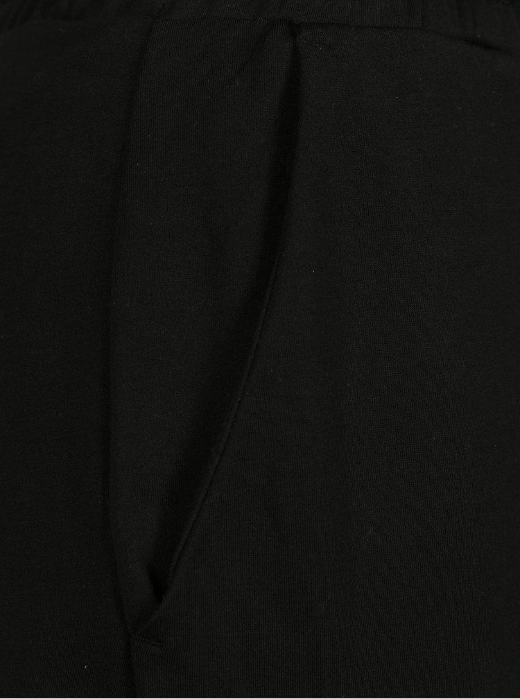 Černé dámské kalhoty s elastickým pasem Garcia Jeans