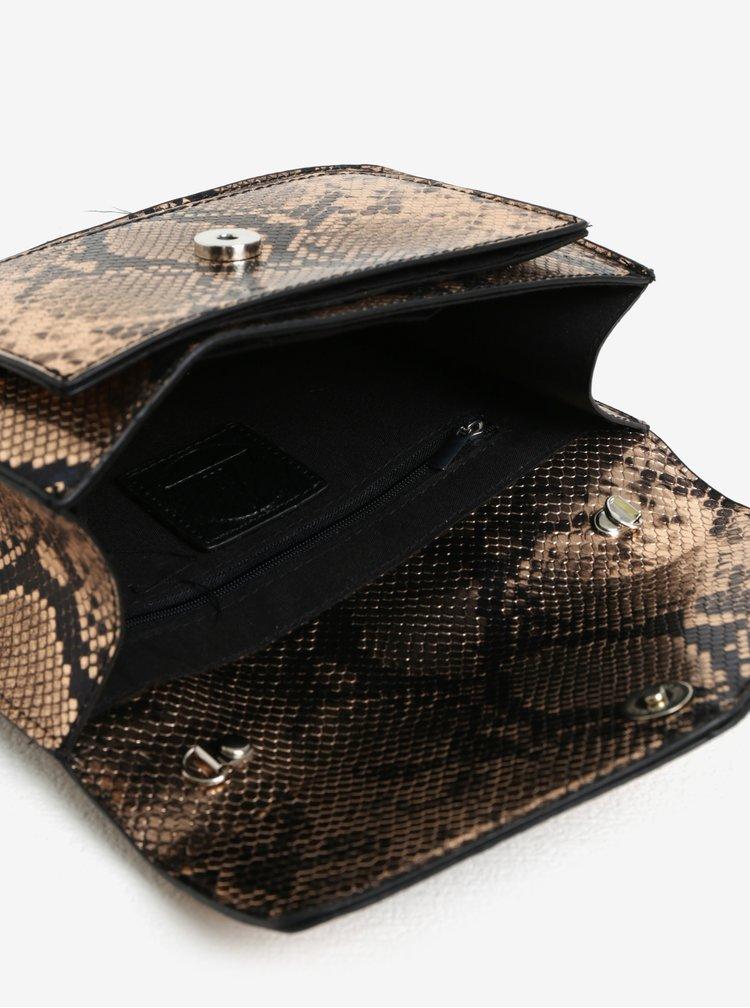 Geanta crossbody cu model piele de sarpe - MISSGUIDED
