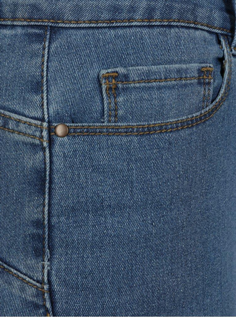 Modré dámské 3/4 džíny VERO MODA Hot Seven
