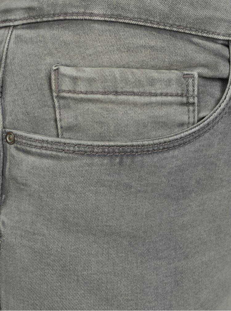 Šedé skinny džíny ONLY Royal