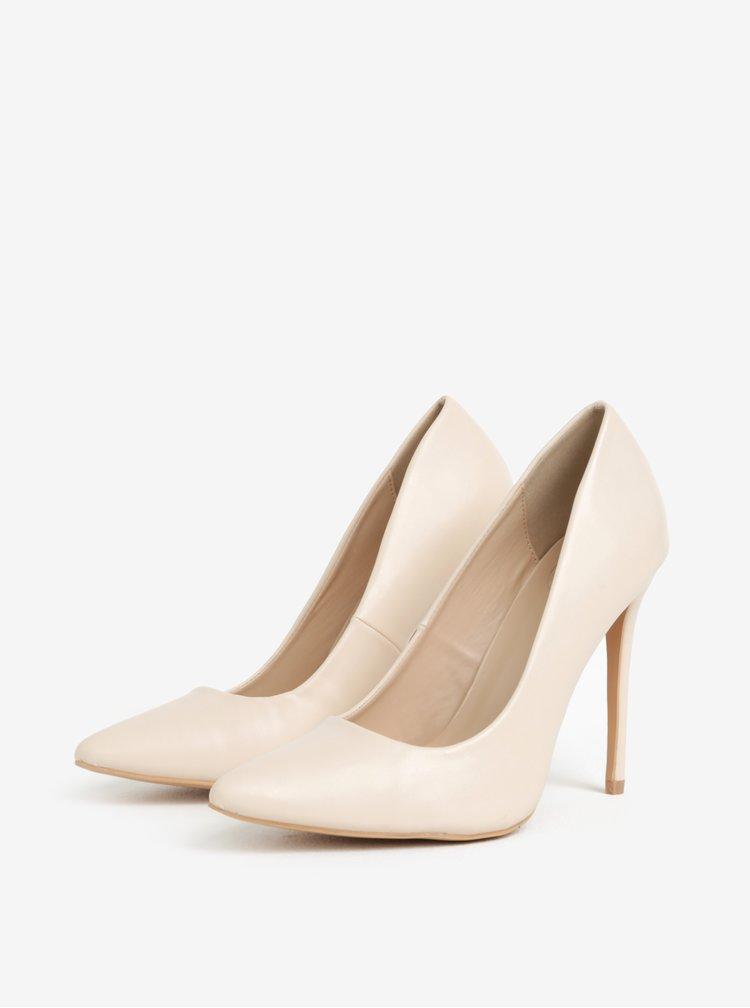 Pantofi roz deschis cu toc inalt - MISSGUIDED