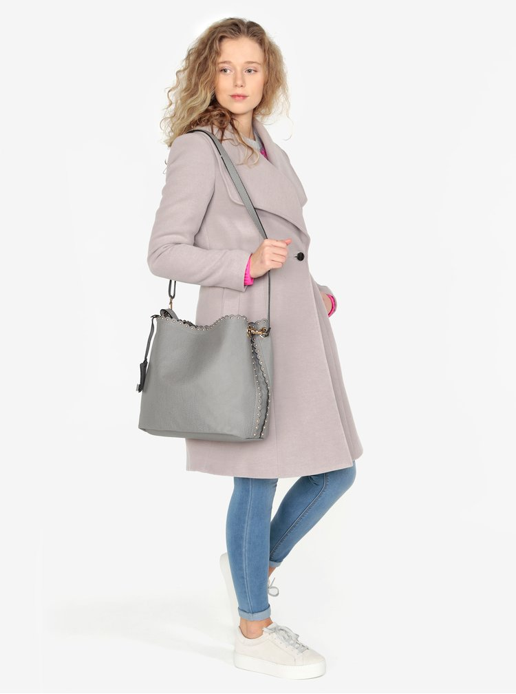 Šedý shopper s pouzdrem 2v1 Oasis Skylar