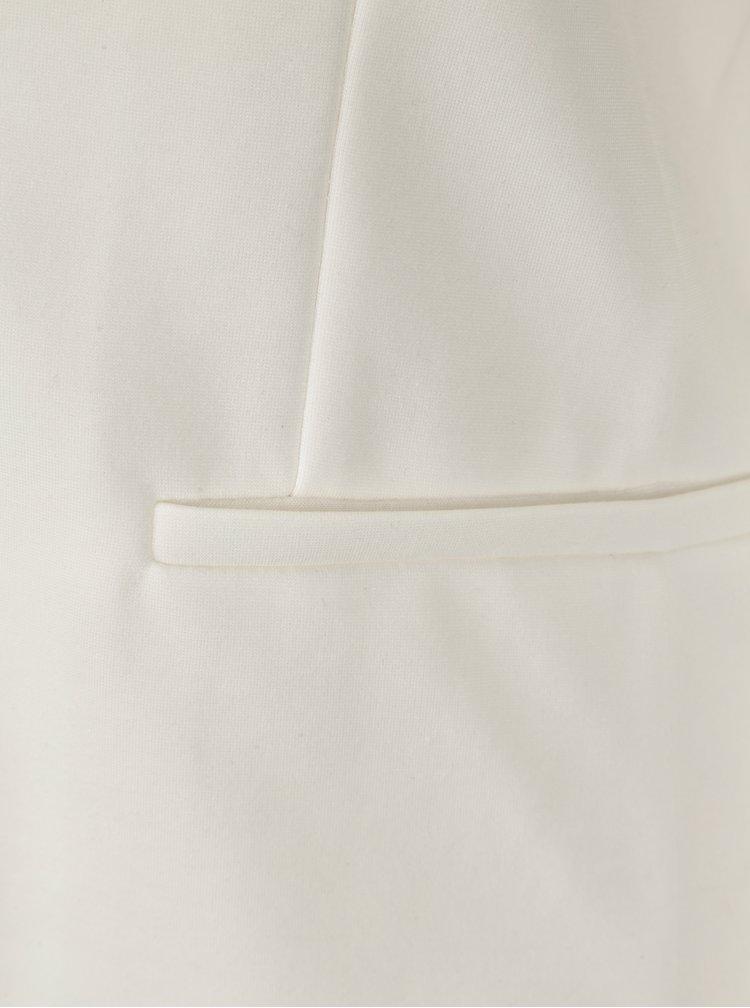 Krémové dámské sako ONLY Poptrash