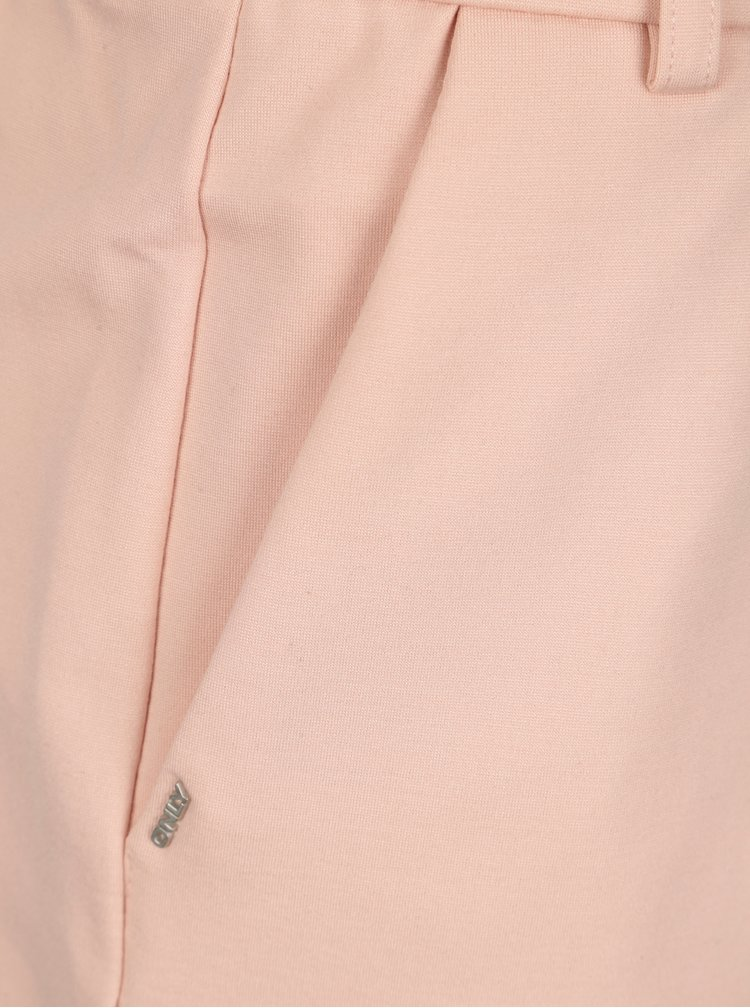 Světle ružová sukně Only Poptrash