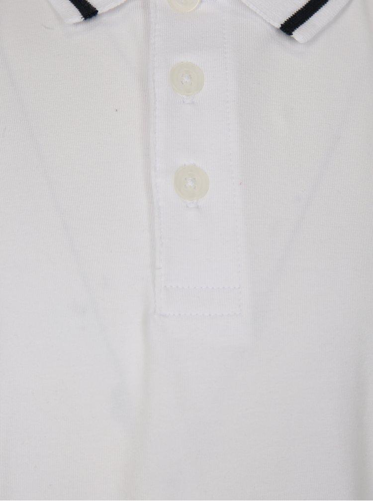 Bílé klučičí polo tričko name it Vartin