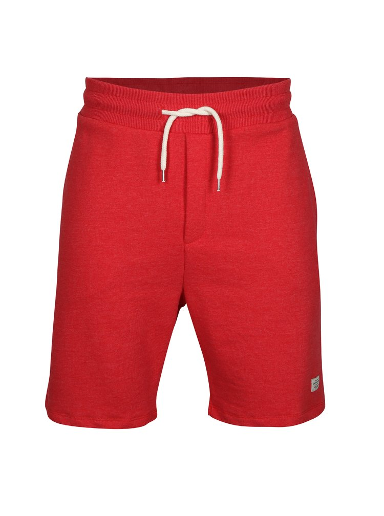 Červené teplákové kraťasy Jack & Jones Houston