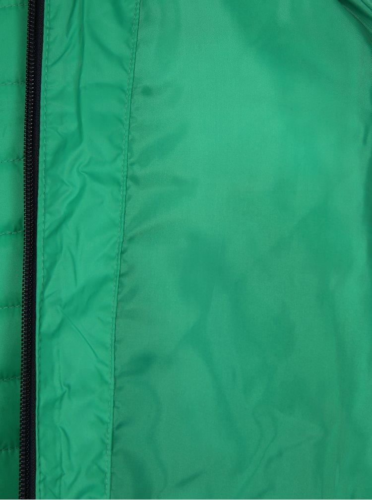 Zelená klučičí prošívaná voděodolná bunda Lego Wear Jakob