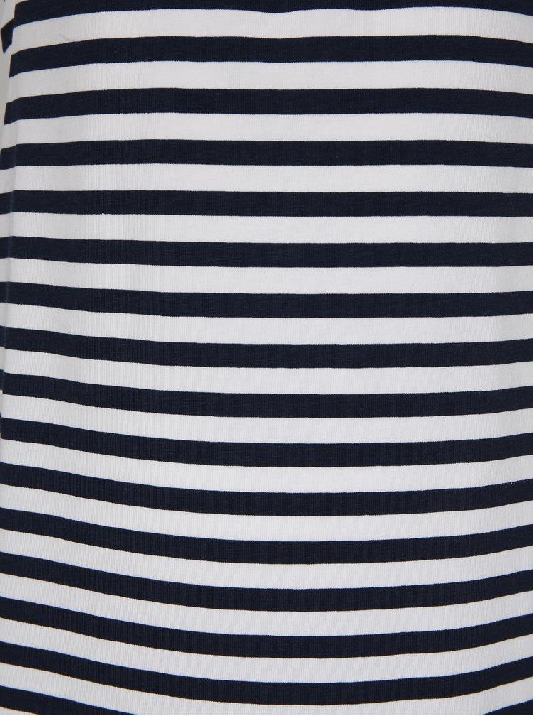 Bílo-modré holčičí pruhované šaty name it Zathrine