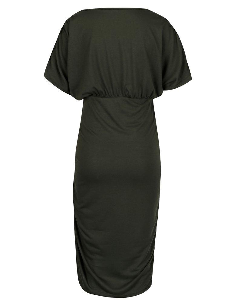 Sada dvou těhotenských šatů v zelené a černé barvě Mama.licious Pilar