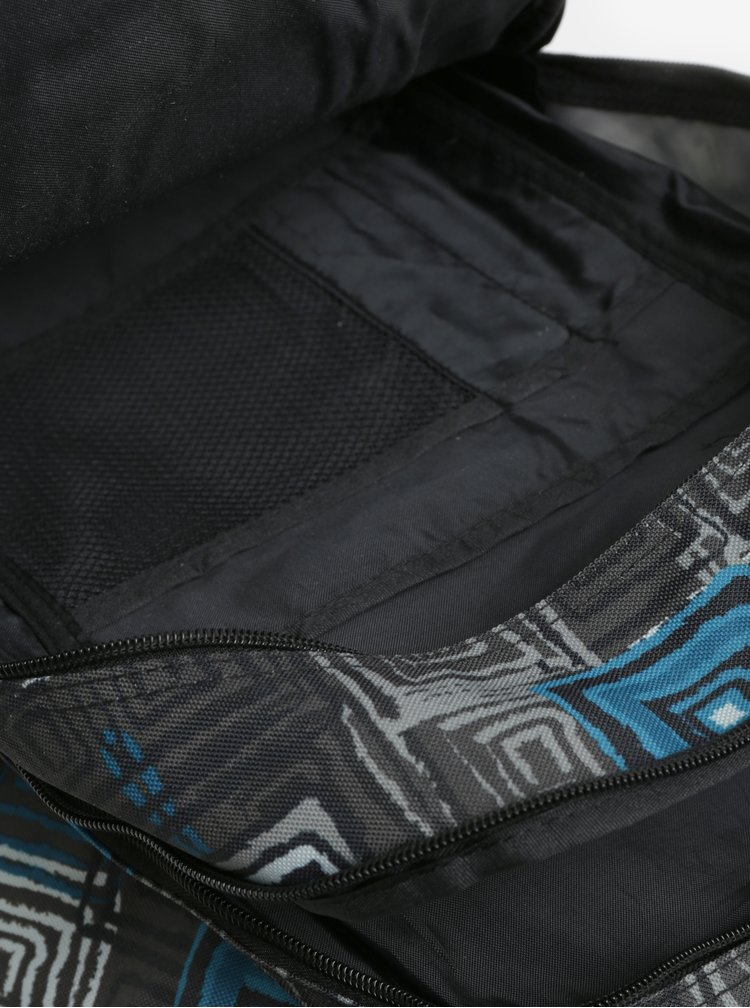 Černo-modrý vzorovaný batoh LOAP Lian 20 l