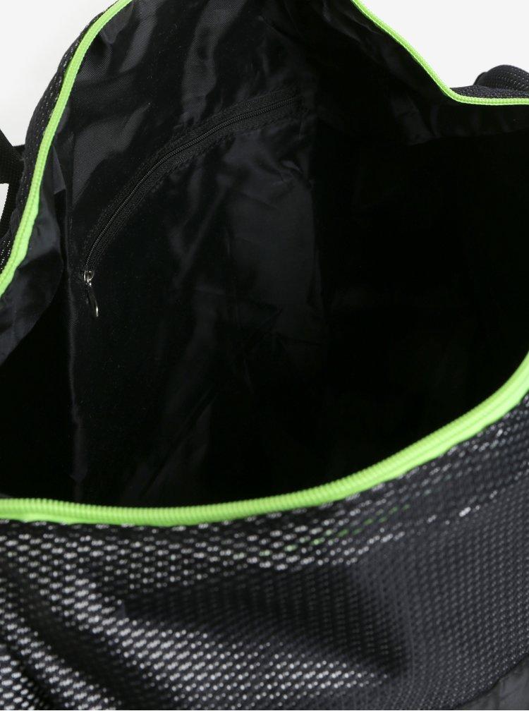 Černá oválná sportovní taška LOAP Leonte