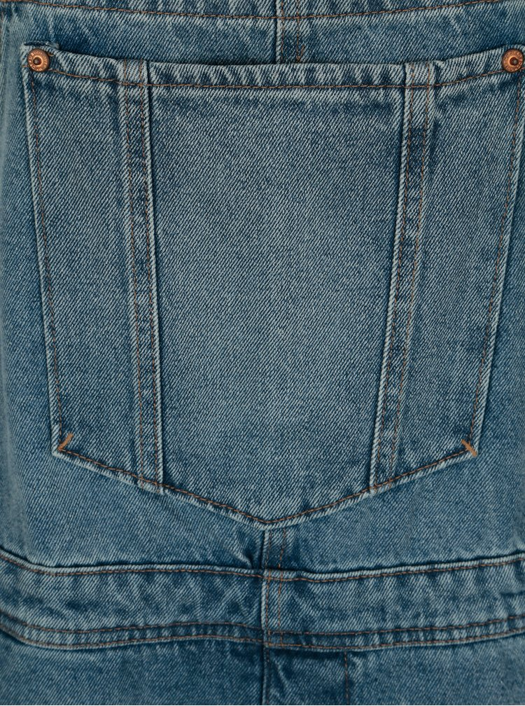 Modré džínové kraťasy s laclem Cheap Monday