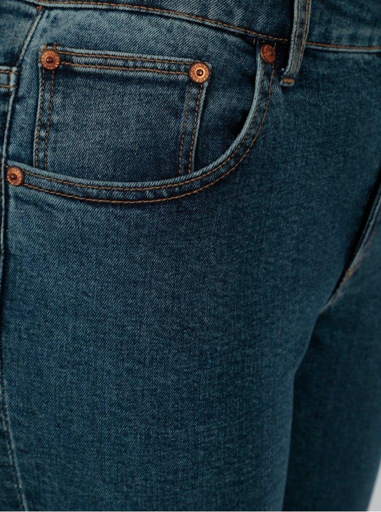 Modré dámské zkrácené skinny džíny Cheap Monday