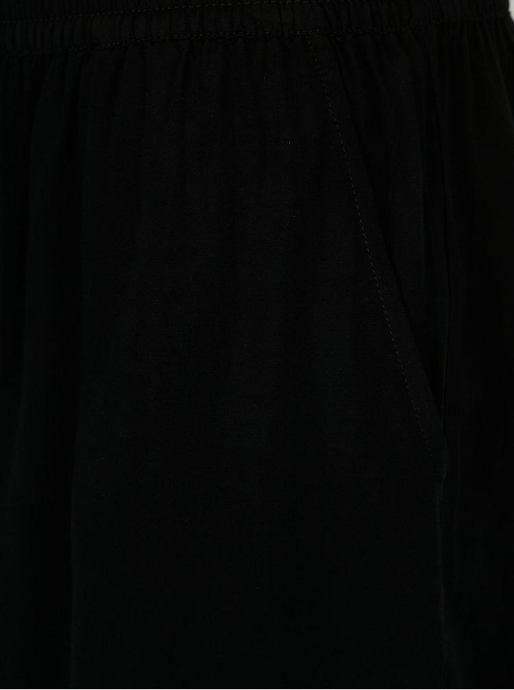 Černé kraťasy s kapsami ONLY Nova