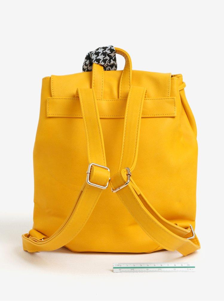 Žlutý batoh s šátkem ONLY Ninett