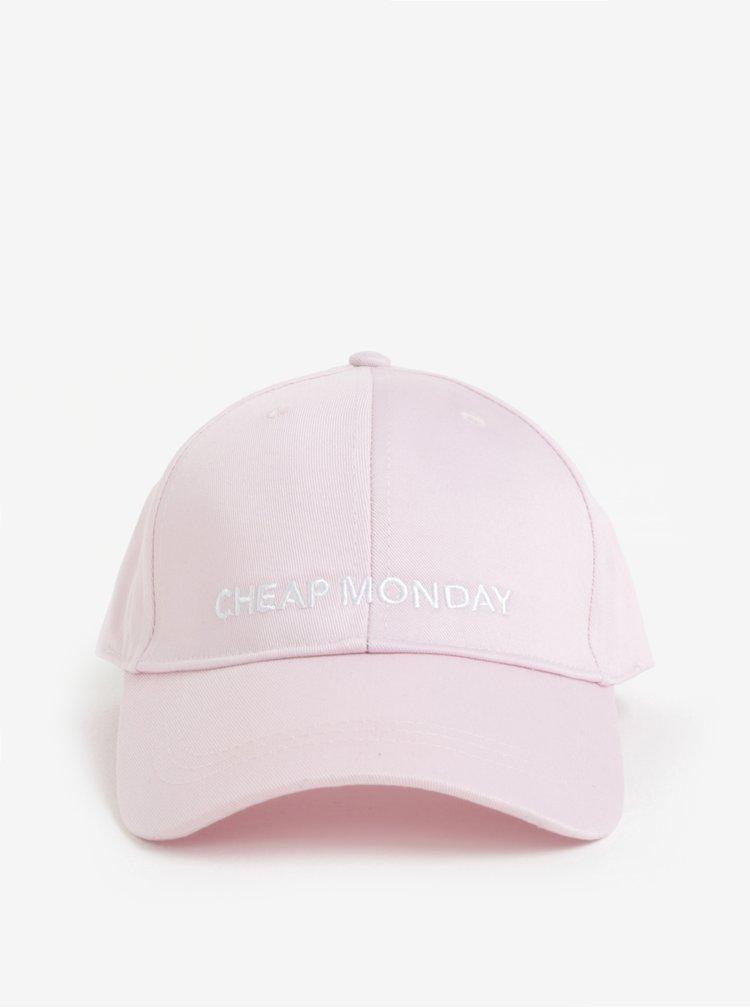 Světle růžová dámská kšiltovka Cheap Monday Baseball