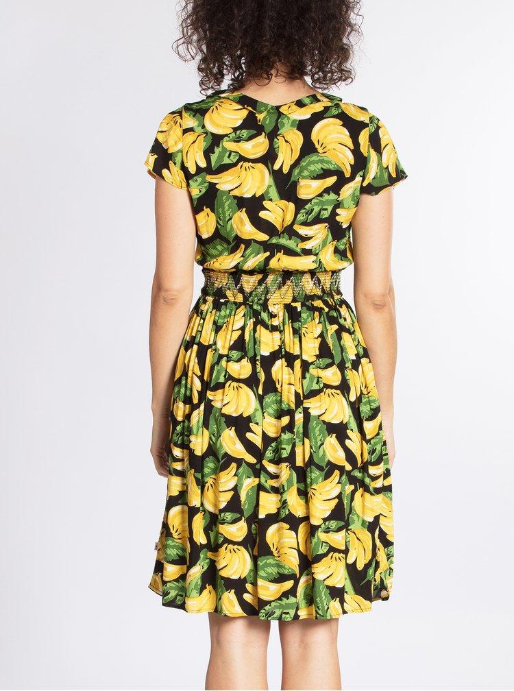Rochie clos cu print banane Blutsgeschwister