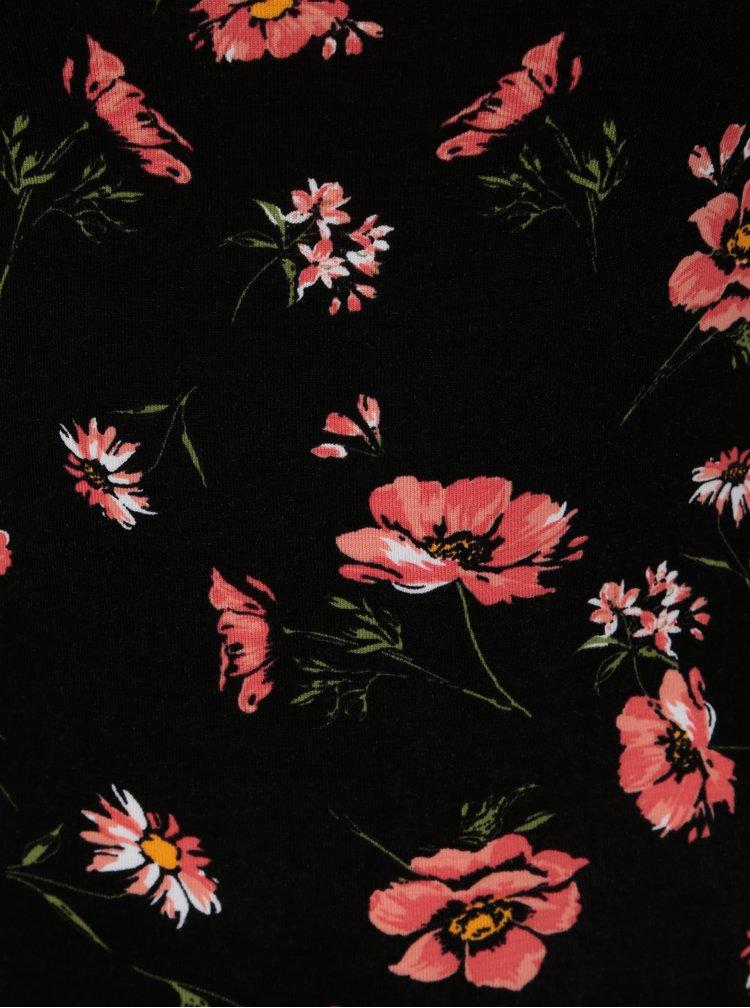 Černé květované body TALLY WEiJL