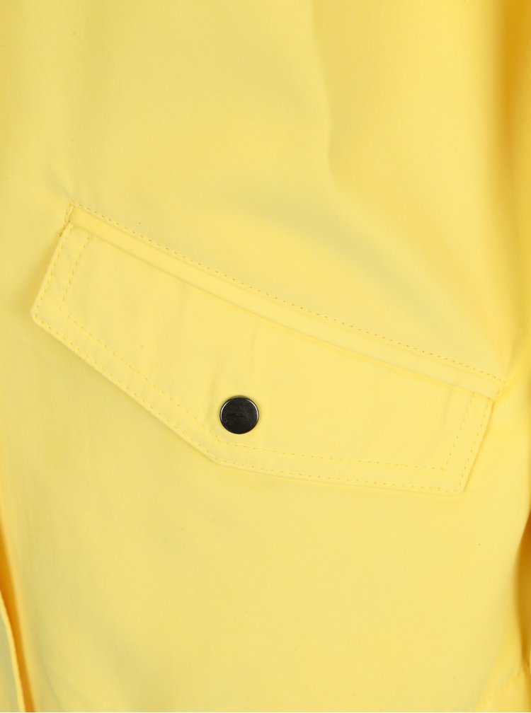 Žlutá bunda s kapucí Jacqueline de Yong Shine