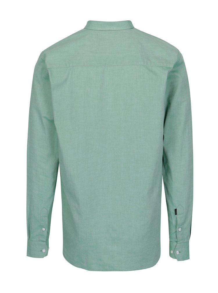 Zelená pánská regular fit košile Makia Flagship