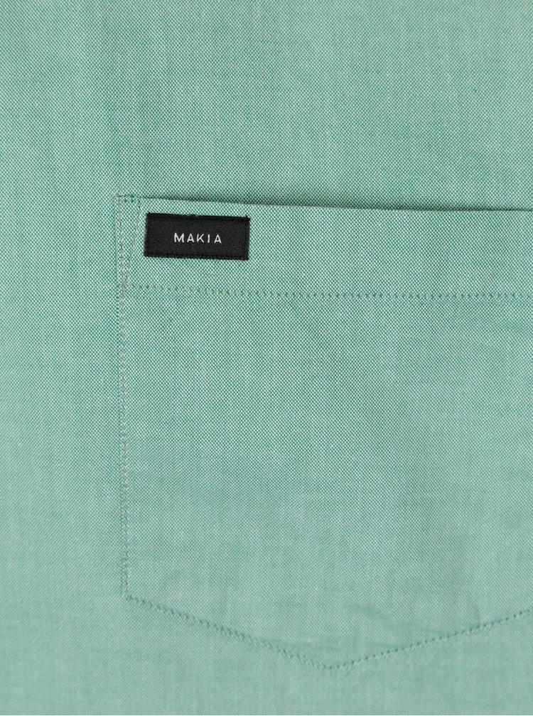 Camasa verde regular fit  pentru barbati - Makia Flagship
