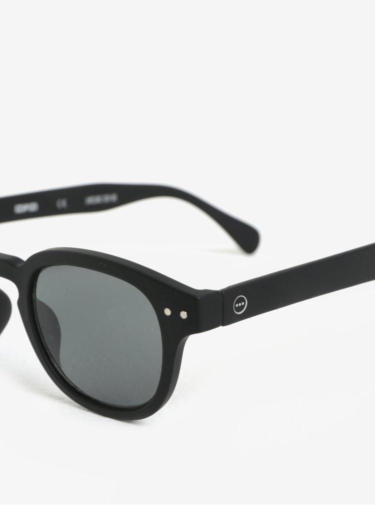 Černé unisex sluneční brýle IZIPIZI #C