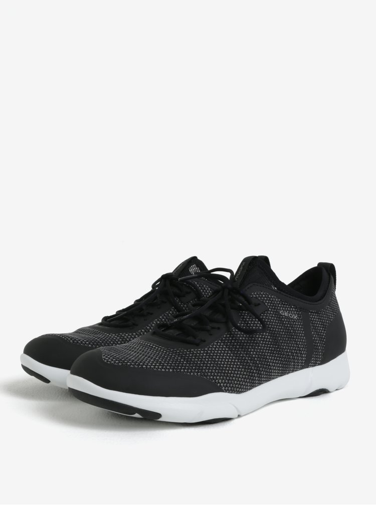 Pantofi sport negri pentru barbati Geox Nebula X