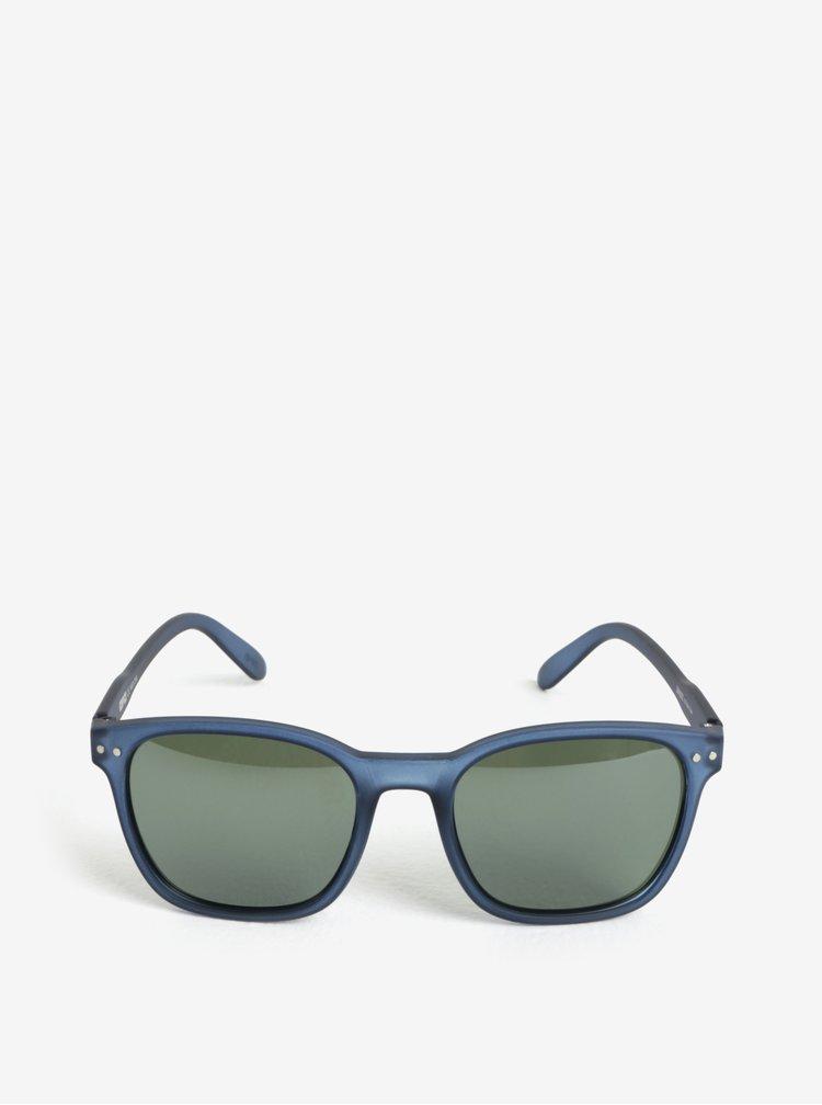 Tmavě modré polarizační unisex sluneční brýle IZIPIZI Nautic