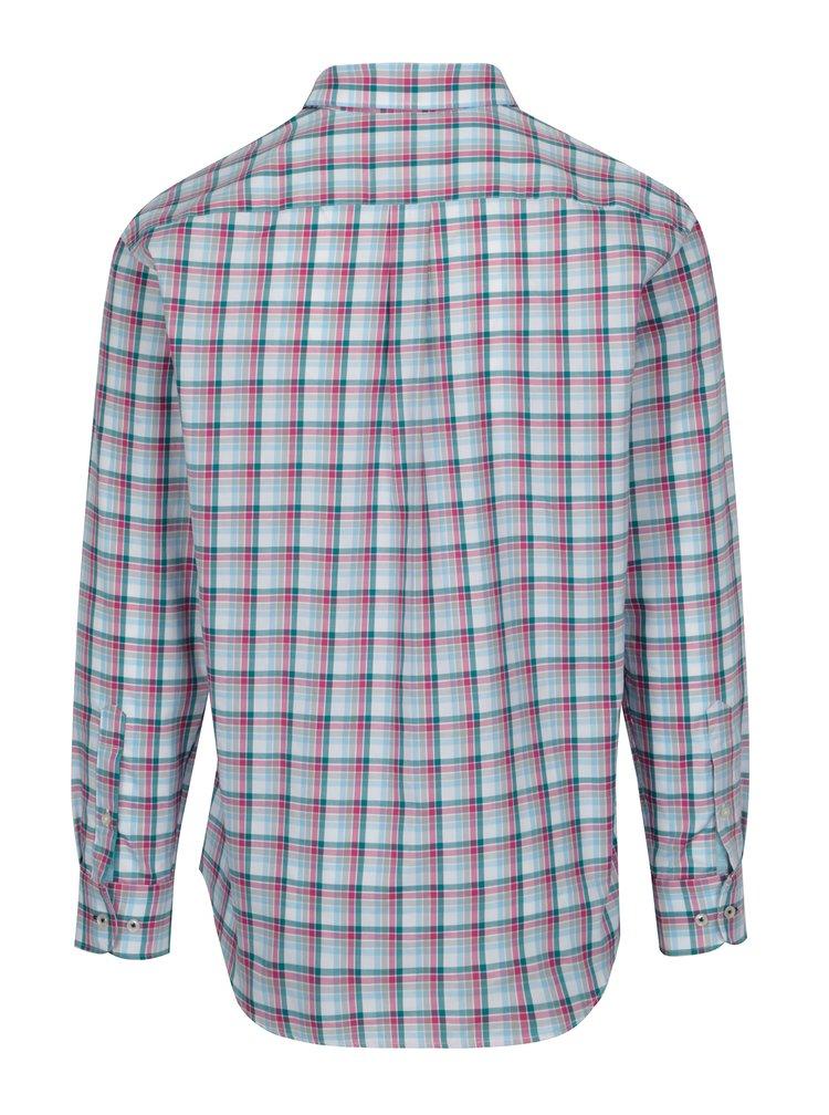 Camasa alb&roz casual fit in carouri - Fynch-Hatton