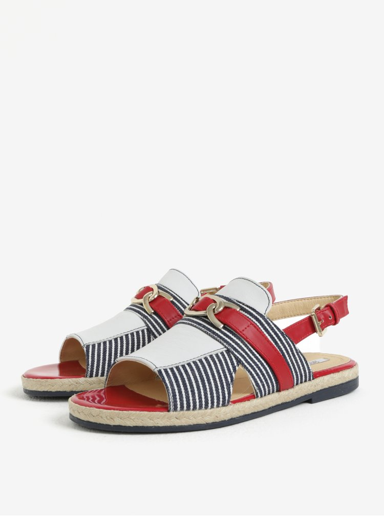 Červeno-modré dámské sandály Geox Mary Kolleen