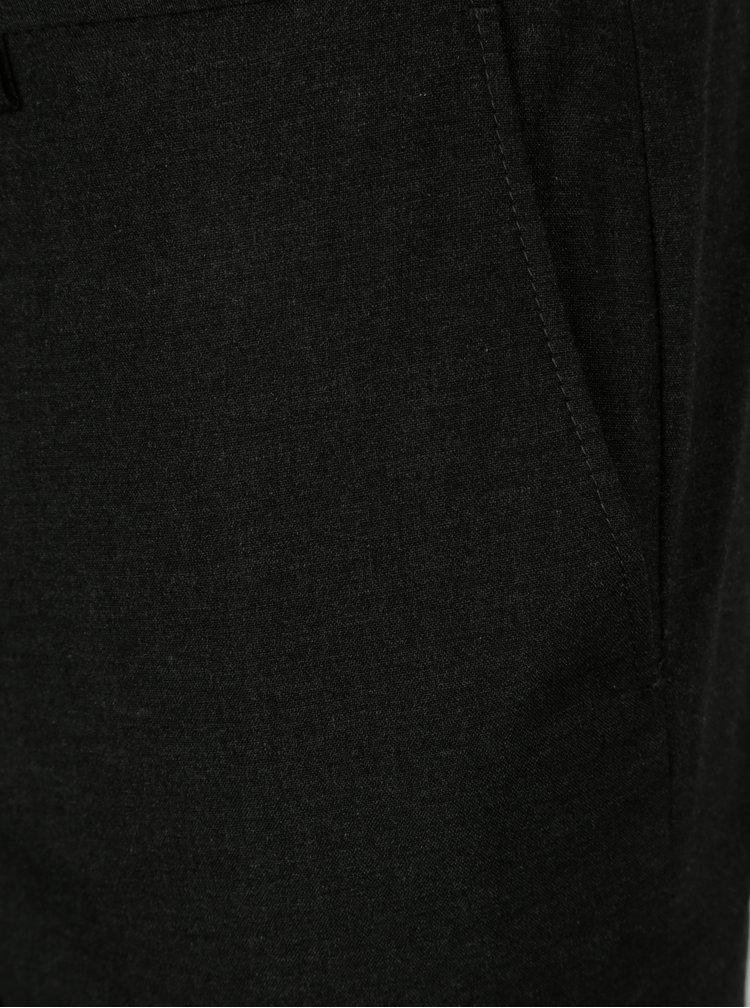 Tmavě šedé skinny kalhoty Burton Menswear Londo