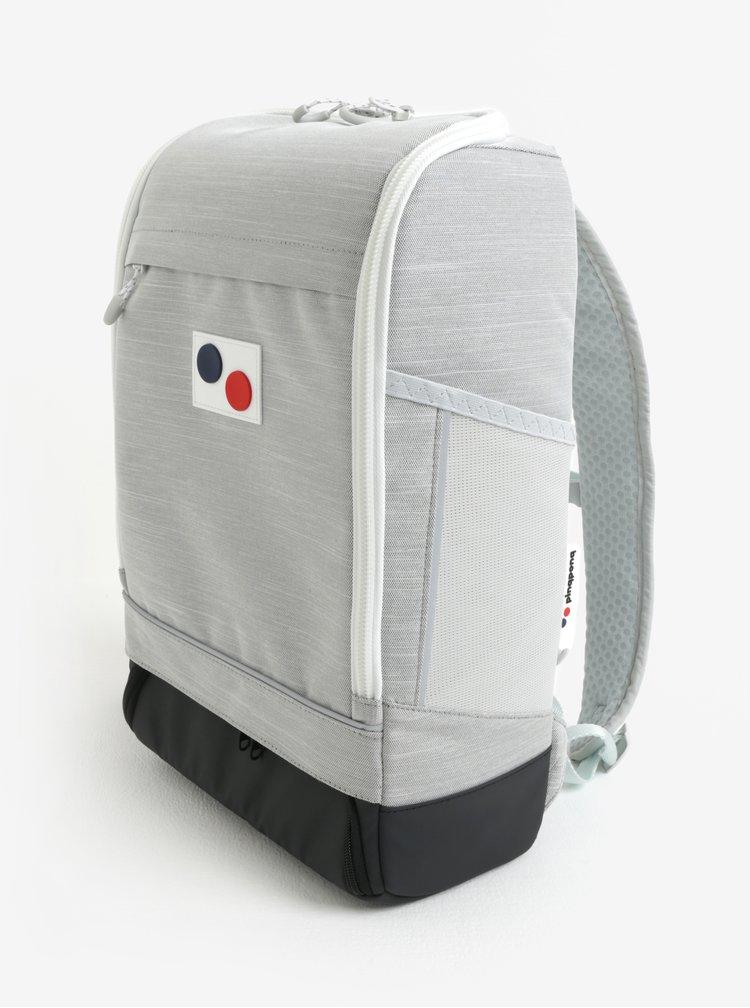 Šedý voděodolný batoh z recyklovaného materiálu pinqponq Cubik medium 19 l