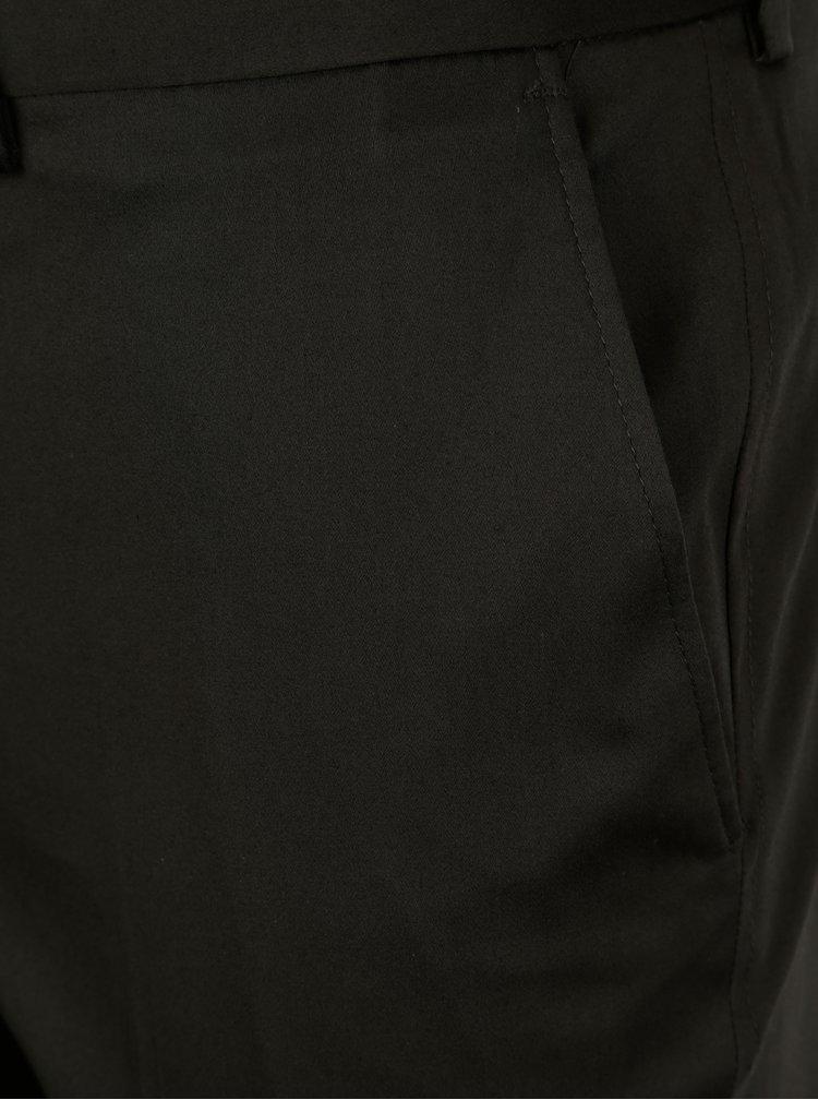Tmavě šedé skinny fit kalhoty Burton Menswear London