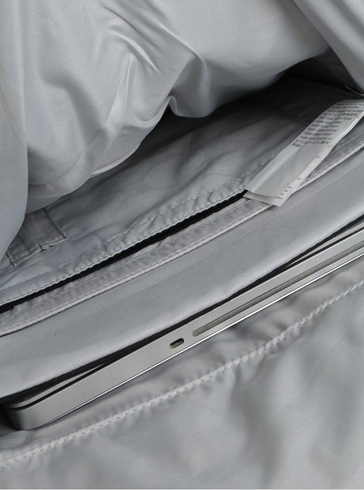 Rucsac rulabil negru impermeabil realizat din material reciclabil pinqponq Klak 18 l