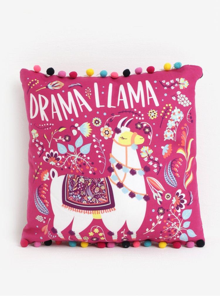 Perna roz cu aplicatii decorative si print - SIFCON