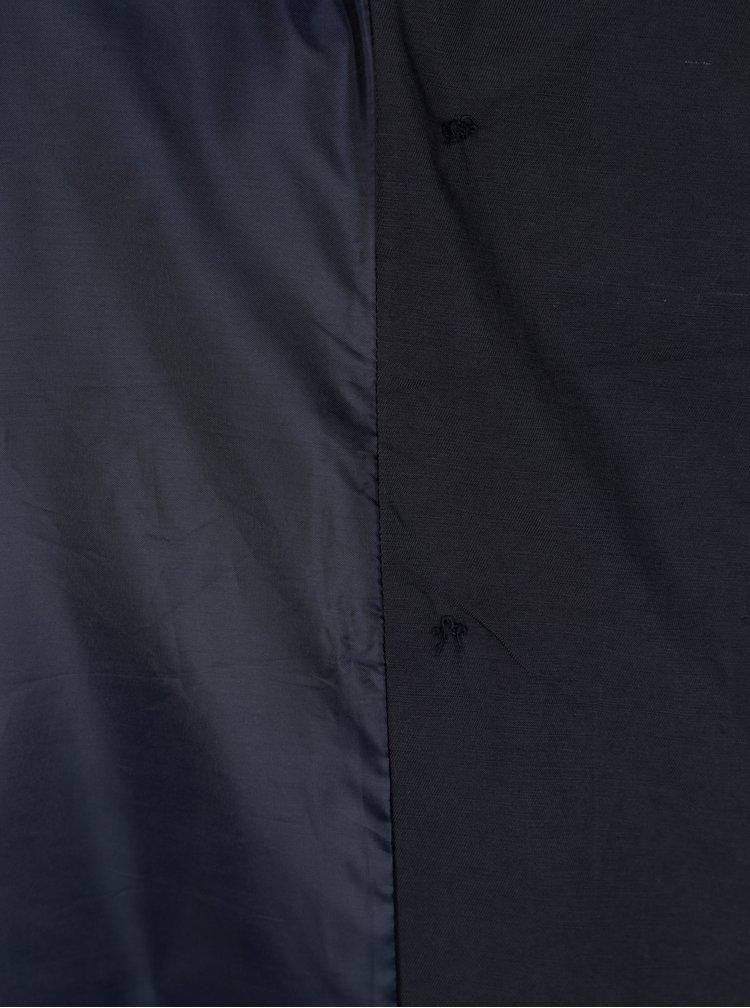 Tmavě modrý trenčkot s páskem ONLY Lucy