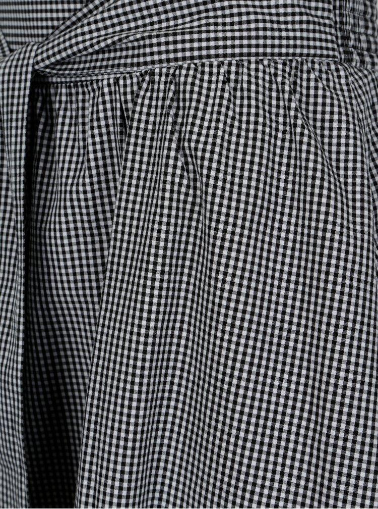 Bílo-černá kostkovaná sukně Jacqueline de Yong Boost
