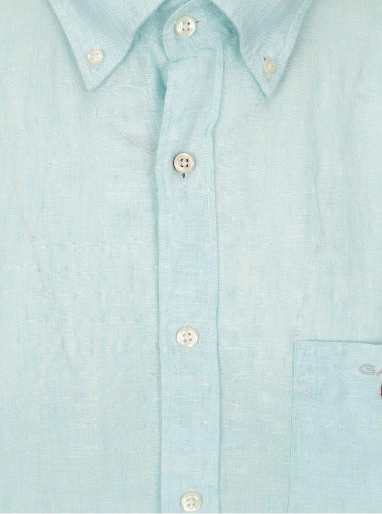 Světle modrá pánská regular košile GANT