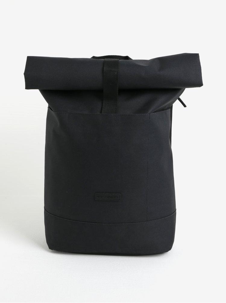 Rucsac impermeabil negru realizat din material reciclabil Ucon Hajo 20 l