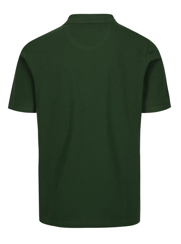 Zelené polo tričko s výšivkou Barbour Sports