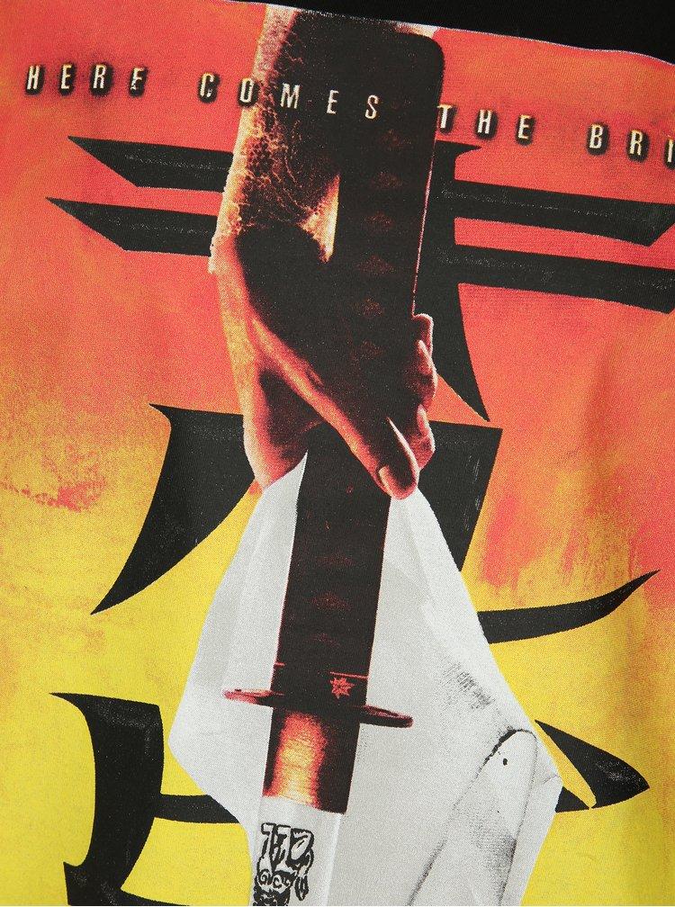 Černé tričko s potiskem ONLY & SONS Kill Bill