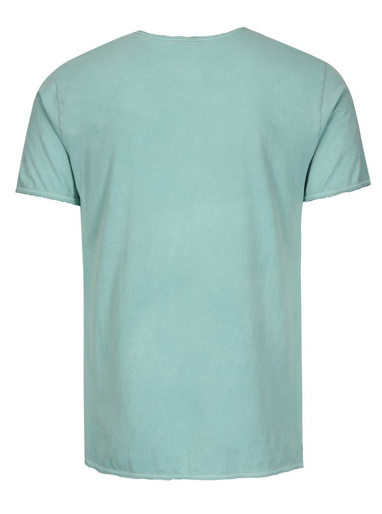 Světle modré basic tričko ONLY & SONS Albert