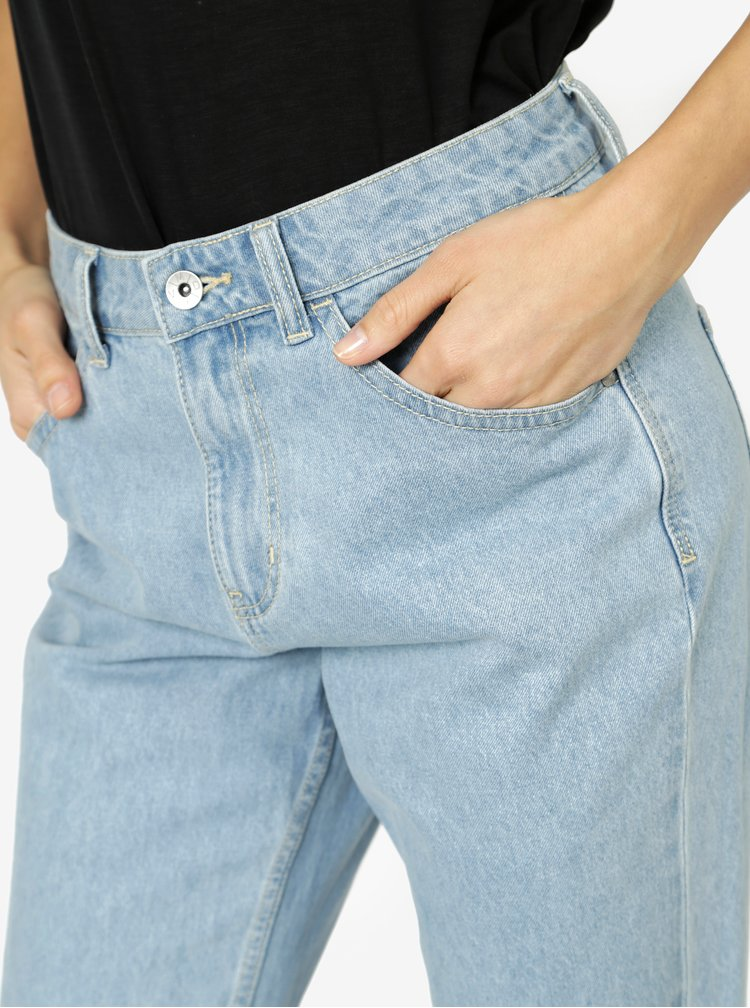 Modré mom džíny s vysokým pasem VERO MODA Nineteen