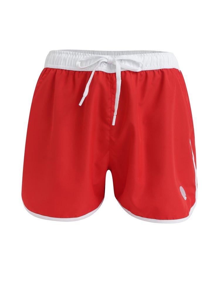 Pantaloni scurti de baie rosii pentru barbati - Björn Borg