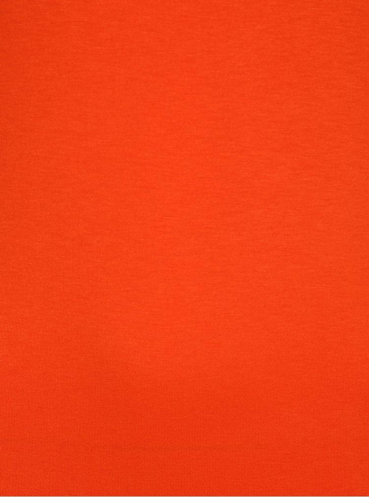 Oranžové maxišaty VILA Deana